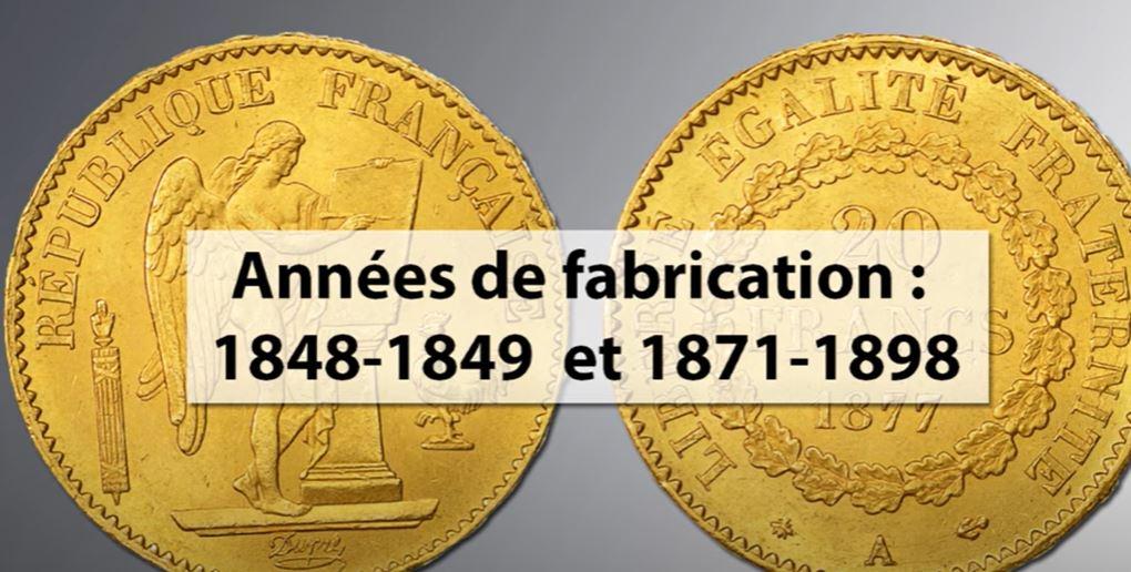 20 francs or napoleon