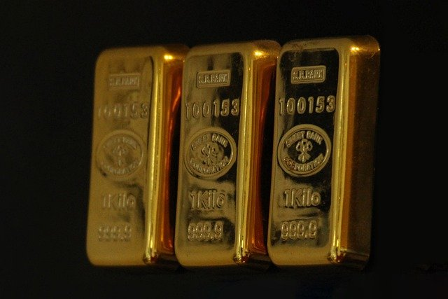 Lingots de 1 kg en or